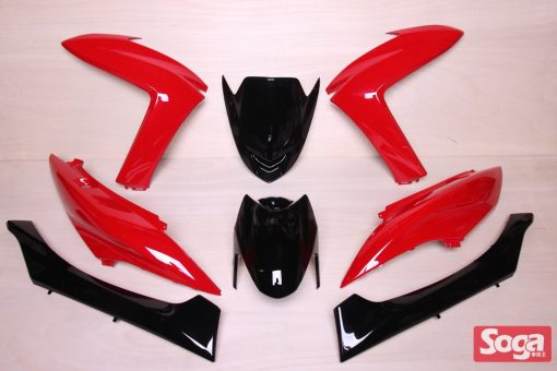 S-MAX-SMAX155-1DK-烤漆部品-亮紅配黑-景陽部品