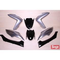 S-MAX-SMAX155-1DK-烤漆部品-鬼火銀配黑-景陽部品