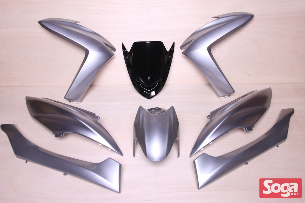 S-MAX-SMAX155-1DK-烤漆部品-鬼火銀-景陽部品