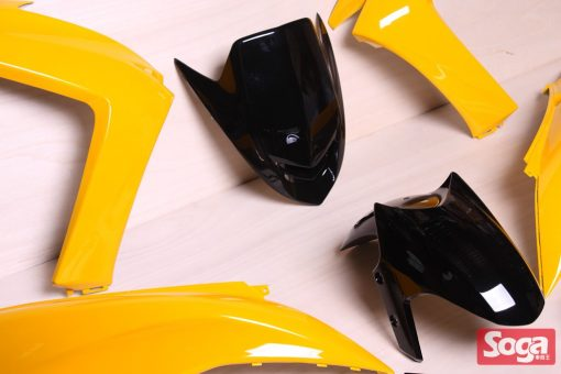 S-MAX-SMAX155-1DK-烤漆部品-競速黃配黑-景陽部品