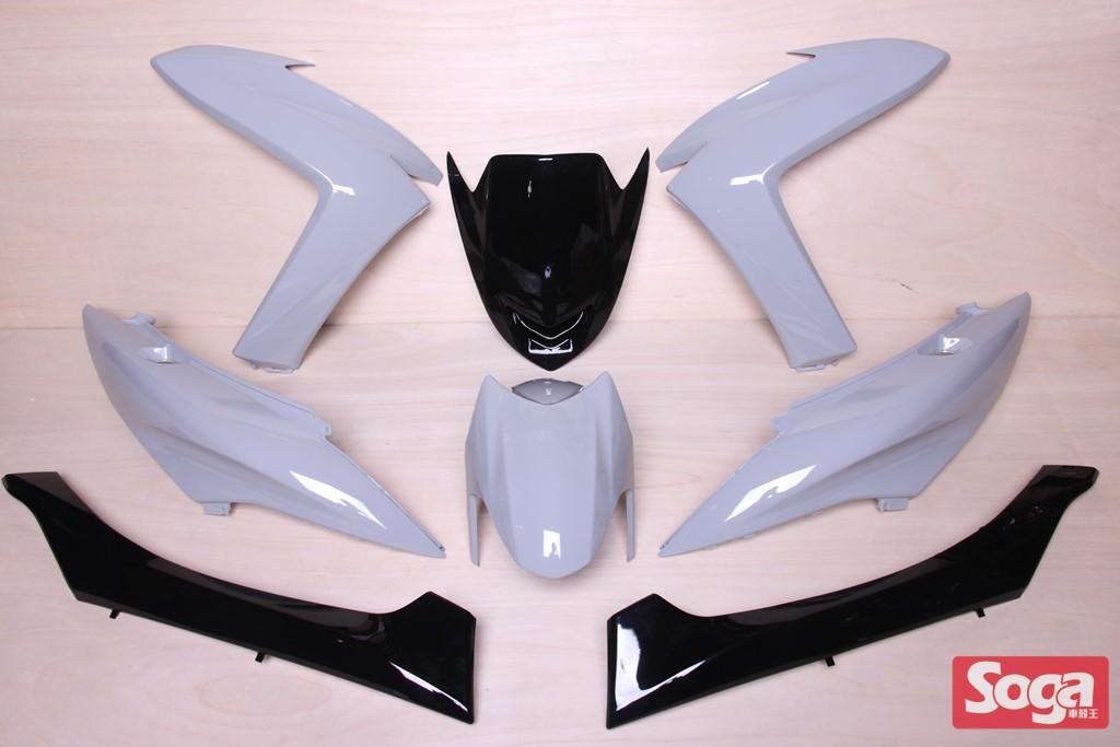 S-MAX-SMAX155-1DK-烤漆部品-水泥灰-軍灰配黑-景陽部品