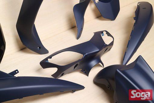 新勁戰三代-烤漆部品-消光戰藍配黑-鎖點強化-1MS-景陽部品