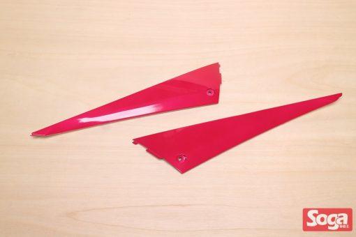 新勁戰三代-烤漆部品-桃紅配黑-鎖點強化-1MS-景陽部品