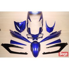 新勁戰三代-烤漆部品-藍配黑-鎖點強化-1MS-景陽部品