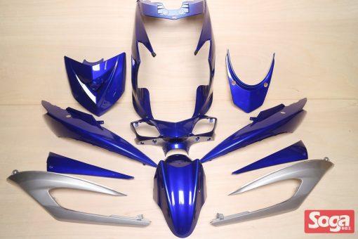 新勁戰三代-烤漆部品-藍配銀-鎖點強化-1MS-景陽部品