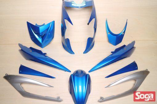 新勁戰三代-烤漆部品-風擎藍配銀-鎖點強化-1MS-景陽部品