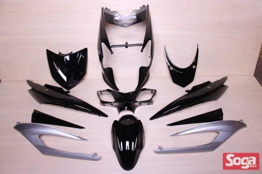 新勁戰三代-烤漆部品-黑配銀-鎖點強化-1MS-景陽部品