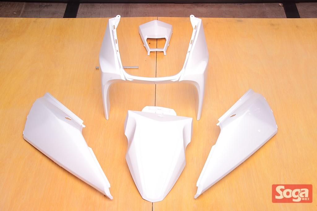YAMAHA-BWS-R-BWS125R-烤漆部品-白-2JS