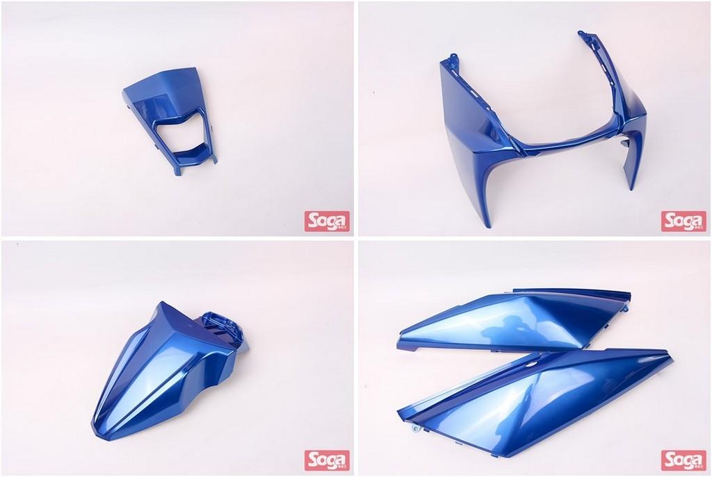 YAMAHA-BWS-R-BWS125R-2JS-烤漆部品-藍-景陽部品