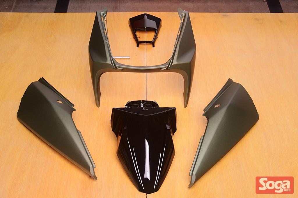 YAMAHA-BWS-R-BWS125R-烤漆部品-消光綠-2JS-CrossDock