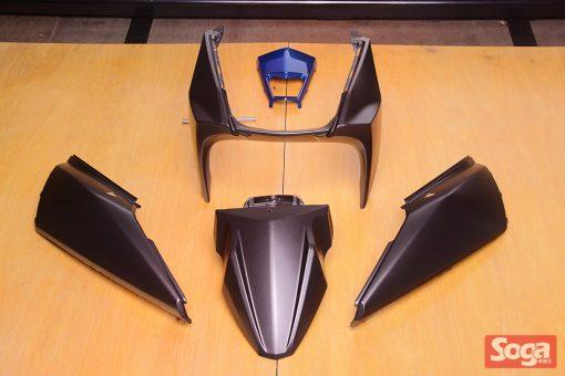 YAMAHA-BWS-R-BWS125R-烤漆部品-消光黑銀-2JS-CrossDock