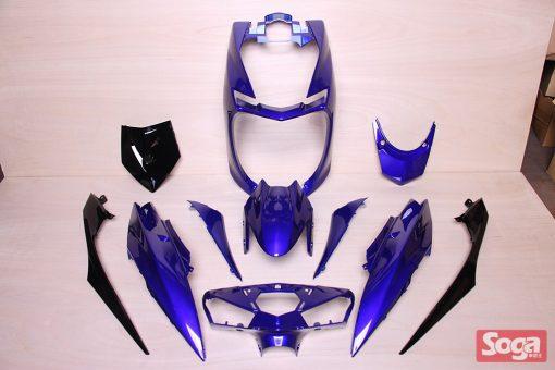 新勁戰-4代目-四代目-烤漆部品-深藍配黑-2UB-景陽部品