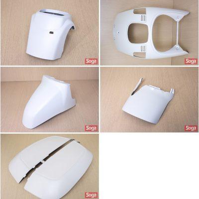 CUXI-100-4C7-烤漆部品-消光白-景陽部品