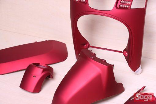 CUXI-100-4C7-烤漆部品-消光酒紅-景陽部品