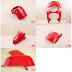 CUXI-100-4C7-烤漆部品-法拉利紅-景陽部品