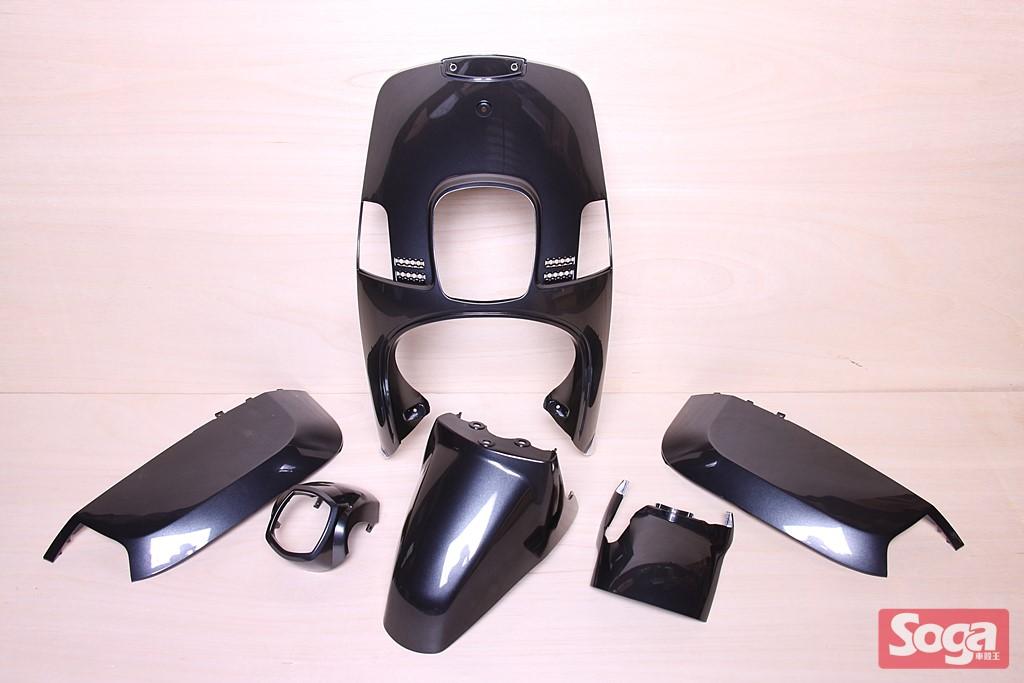 CUXI-100-4C7-烤漆部品-冷冽黑銀-景陽部品