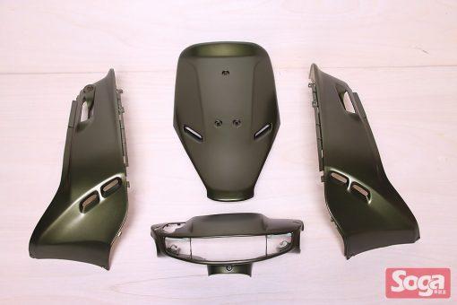 SYM-DIO-斜板(2孔)-烤漆部品-消光銀綠-碟