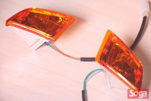 SYM-DIO-SP-EZ-斜板-可動-通用-前方向燈組-歐規橘
