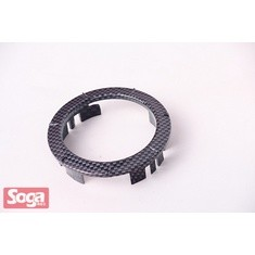 KYNCO-MANY-GP125-加油飾蓋-卡夢Carbon-黑銀網格-改裝-景陽部品