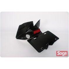 S-MAX-牌照板-短板-亮黑-改裝