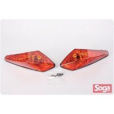 SMAX-155-後方向燈組-歐規橘-1dk-改裝-EG部品